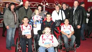 Weiterer Sport: Rolli-Kids Trier bei Premiere des Trierer Weihnachtszirkus