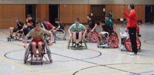 Weiterer Sport: RSC vor Ort – Rollstuhlsport an Realschule St. Matthias