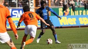 Eintracht Trier: Vertragsverlängerung mit Olivier Mvondo