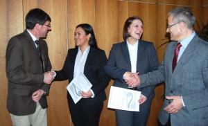 Campus: Ökonomiepreis der HWK für Dörte Portz und Claudia Veith