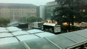 Aktuelles: Unwetter in der Trierer Innenstadt