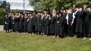 Campus: Anglistikstudenten feiern Bachelor-Abschluss