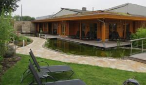 Eröffnung des neuen Ruhe- und Liegehauses