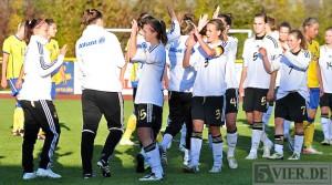 Frauen: U19-Mädels gewinnen in Konz 4:0 gegen Schweden