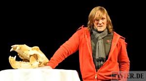 Buntes: Mit Moschusochsen chillen – Andreas Kieling in Trier