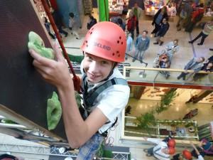 Freizeit: Trier Galerie – Kletterwald sehr gut besucht
