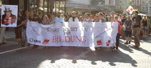 """Campus: """"Trier wehrt sich"""" – Protest gegen Sparmaßnahmen"""