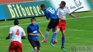 Raus mit Applaus – U19 verpasst Pokalsensation