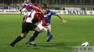 Eintracht Trier im Viertelfinale – 5:0 gegen Krettnach