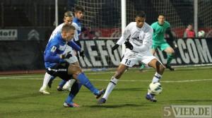 Der erste Heimsieg 2013 – 1:0 gegen Waldhof Mannheim
