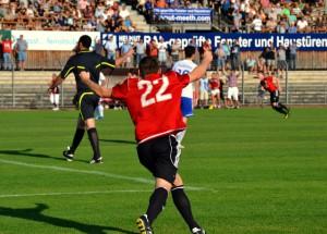 Salmrohr in Torlaune – Mehring: 0:4-Niederlage gegen Burgbrohl