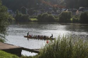 Drachenbootsport in Trier – Teil 1: Erstes Trierer Drachenbootrennen