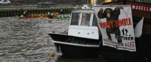 Drachenbootspektakel an den Saarwiesen – Monkey Jumble 2013