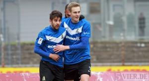 Krönender Heimspiel-Abschluss von Eintracht Trier beim 3:0 gegen Neckarelz