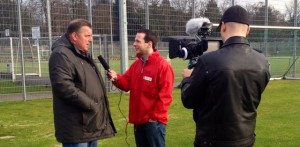 Gelungener Trainingsauftakt bei Eintracht Trier – 5vier-TV war vor Ort