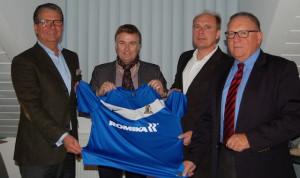 Eintracht Trier und Romika verlängern Partnerschaft um drei Jahre