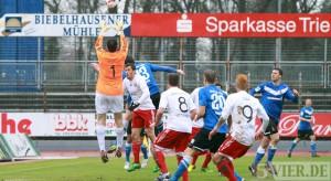 Eintracht Trier: Punktgewinn mit bitterem Beigeschmack / VIDEOs online