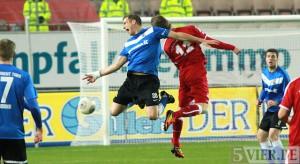 """Eintracht Trier unterliegt in Unterzahl mit 1:2 gegen FCK II am """"Betzenberg"""""""