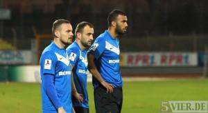 Pleite beim Spitzenreiter: Eintracht Trier unterliegt 0:4