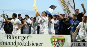 Versöhnlicher Saisonabschluss: Eintracht Trier feiert Pokalsieg