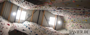 Ganz hoch hinaus – Klettern in der Kletterhalle Cube Trier Teil 2