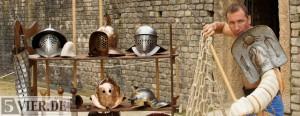 Ein echter Gladiator sein – die Gladiatorenschule in Trier