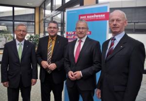 HWK-Päsident Rudi Müller im Amt bestätigt
