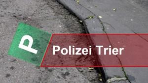 Zerstörungswut im Straßenverkehr in Trier-West