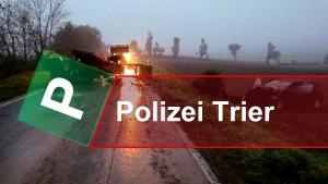 Traktor Karambolage fordert Schwerverletzte