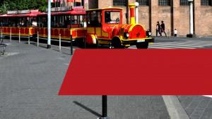TRIER-IM-BLICK: Die Rot-gelbe Mauer auf Rädern