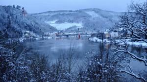 In Traben-Trarbach soll Schnee liegen