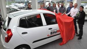 HWK Trier erhält Hyundai i 10 für Ausbildungszwecke