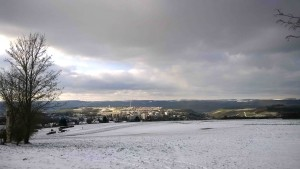 Tarforst hat den Stonehenge-Gummibärchen-Känguru-Schneemann