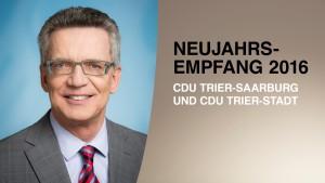 C wie CDU – Neujahrsempfang 2016
