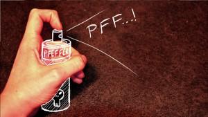 Pfefferspray ist eine Waffe!