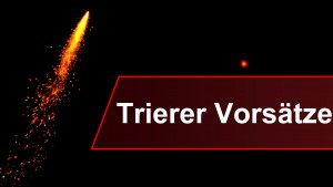 V – wie Vorsätze für Trier 2016