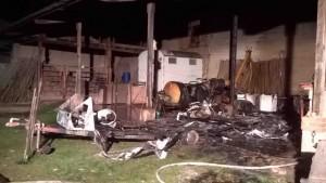 Schweich – Brandstiftung in Aussiedlerhof