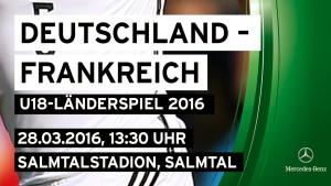 U18 DFB-Stars Ende März in Konz und Salmtal