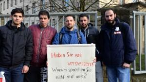 Syrisch-deutsche Demo in der Dasbachstraße