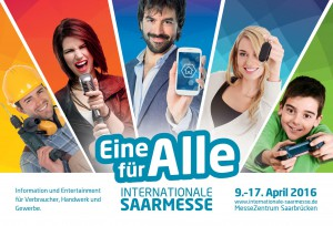 Ticket-Specials zur Internationalen Saarmesse 2016