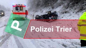 Verletzt im Schnee in Waldrach