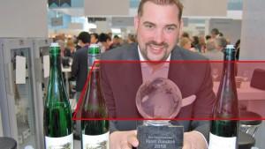 WINE AWARD gewonnen: Maximilian von Kunow