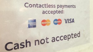 Contactless statt Cash