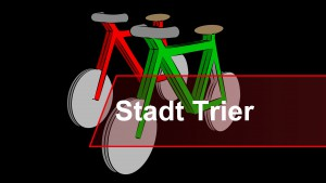 Fahrradfahrer aufgepasst