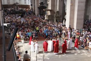 Vorgeschmack zum Weltjugendtag zu Gast in Trier
