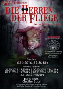 """Das KATZ-Theater spielt """"Die Herren der Fliegen"""""""
