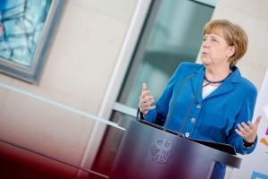 Bürgerdialog mit Merkel in Trier