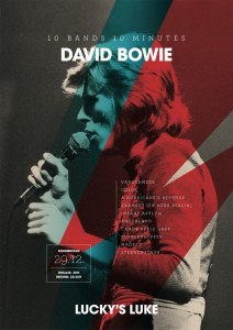 10 Bands 10 Minutes – Tribute to David Bowie