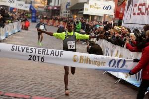 Getaneh Tamire siegt beim Trierer Silvesterlauf