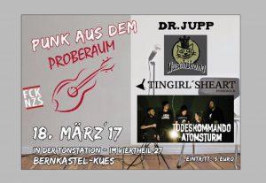 Punk aus dem Proberaum – Punkshow in Bernkastel am 18.3